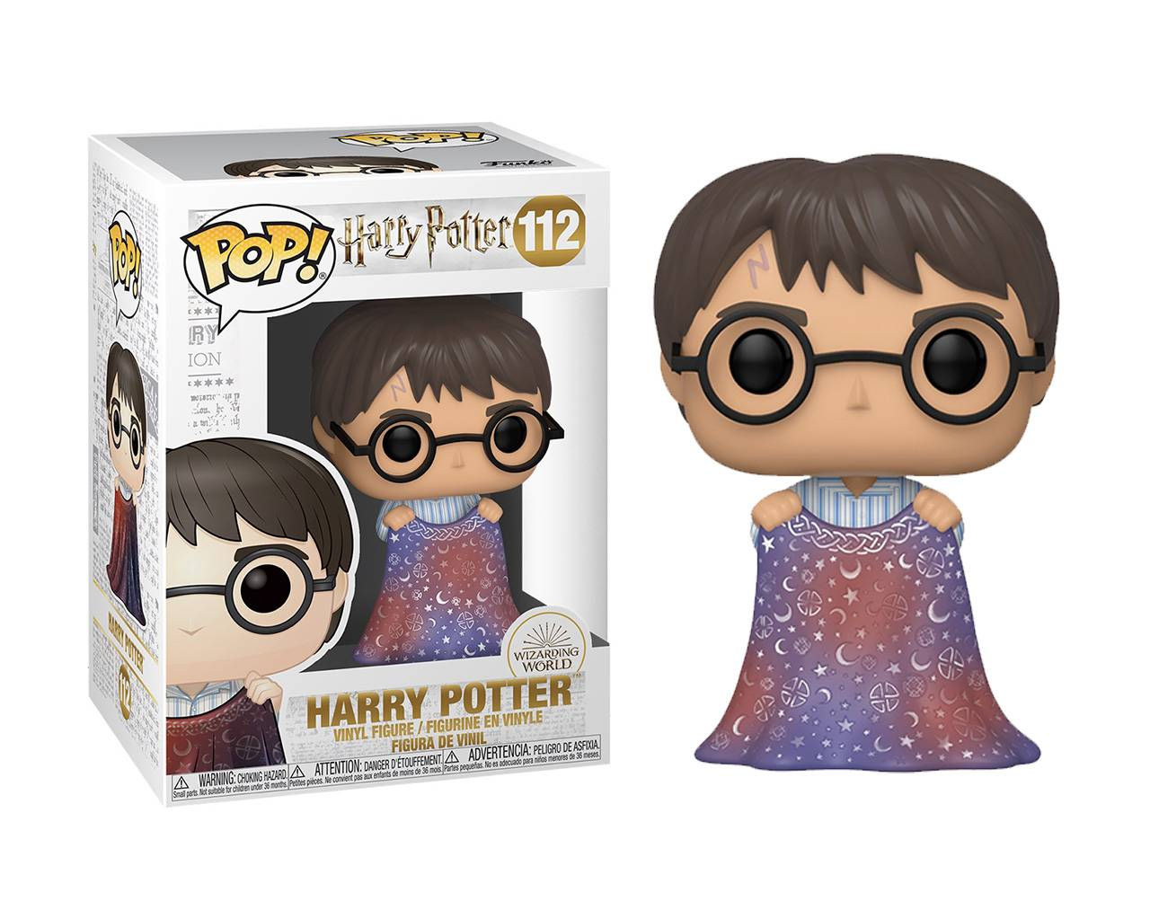 Harry Potter with Invisible Cloak Pop! Vinyl
