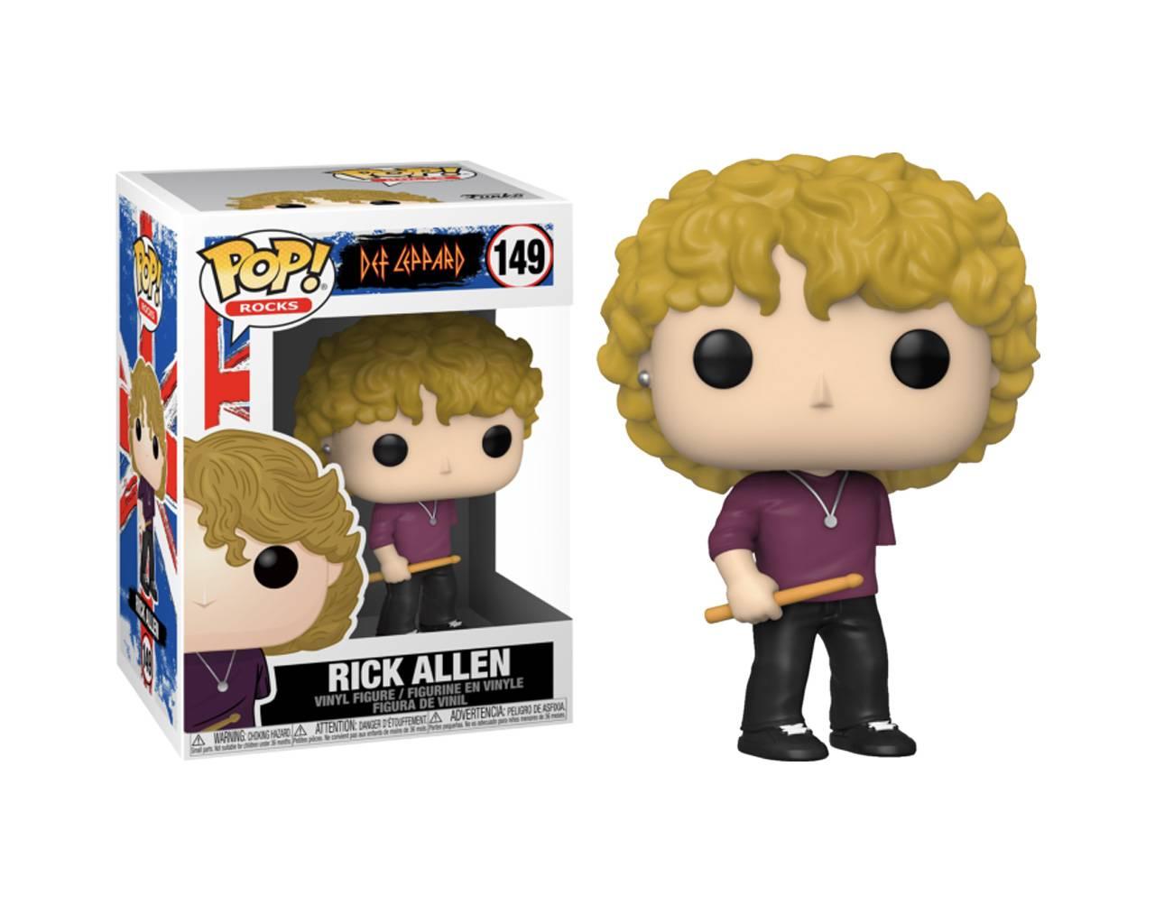 Rick Allen Pop! Viyl