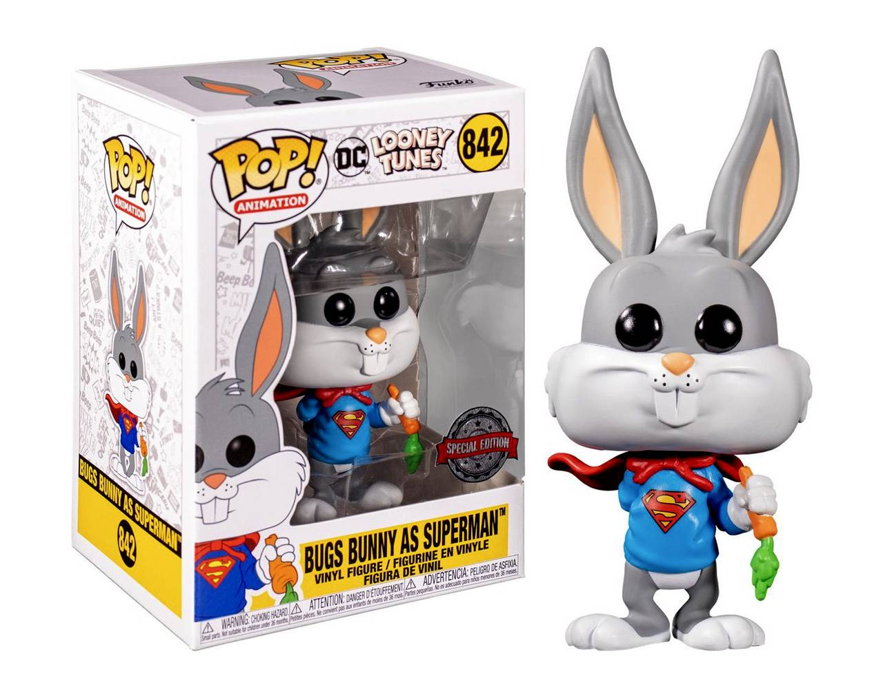 Bugs Bunny (Superman) Pop! Vinyl