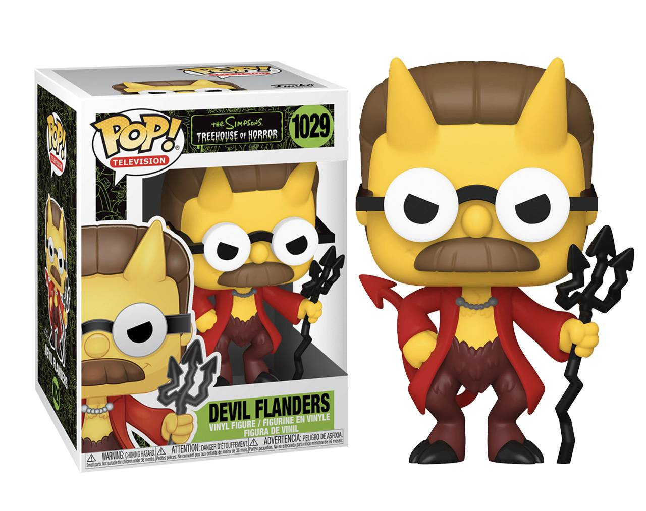 Devil Flanders Pop! Vinyl