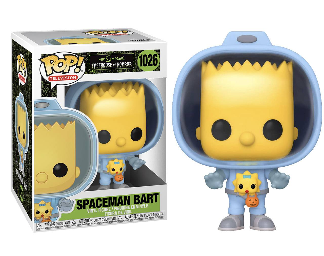 Spaceman Bart (with Maggie) Pop! Vinyl
