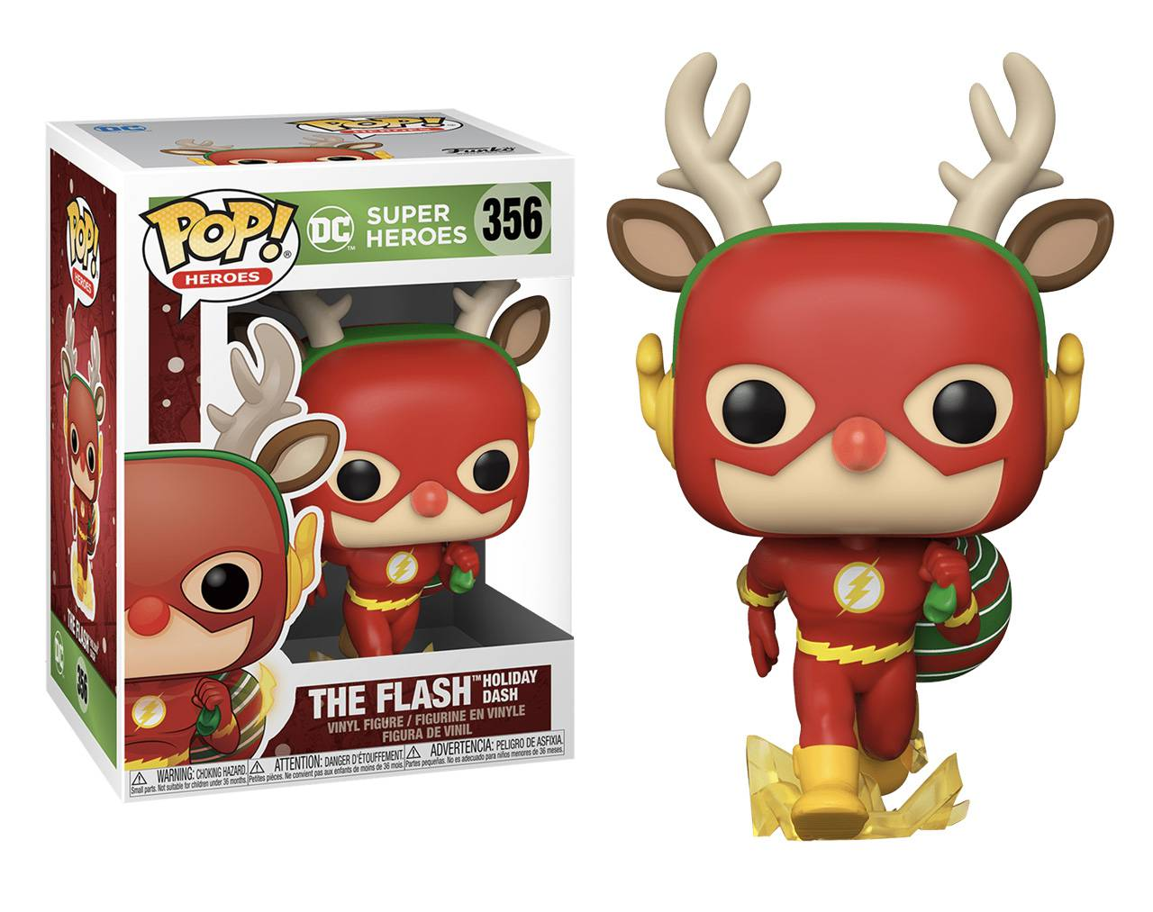 The Flash (Holiday Dash) Pop! Vinyl