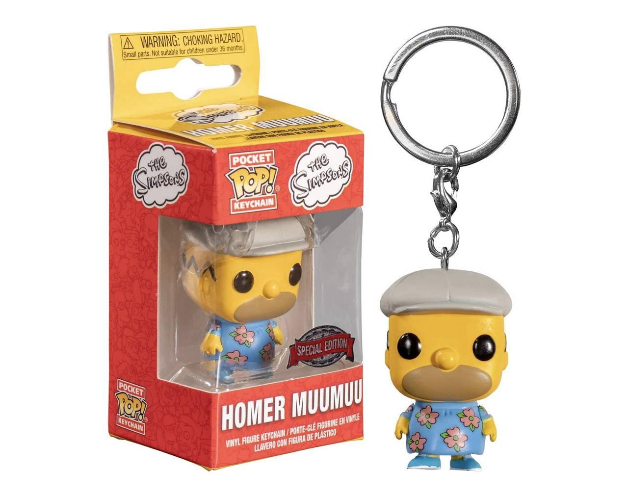 Homer Muumuu (Llavero) Pop! Vinyl