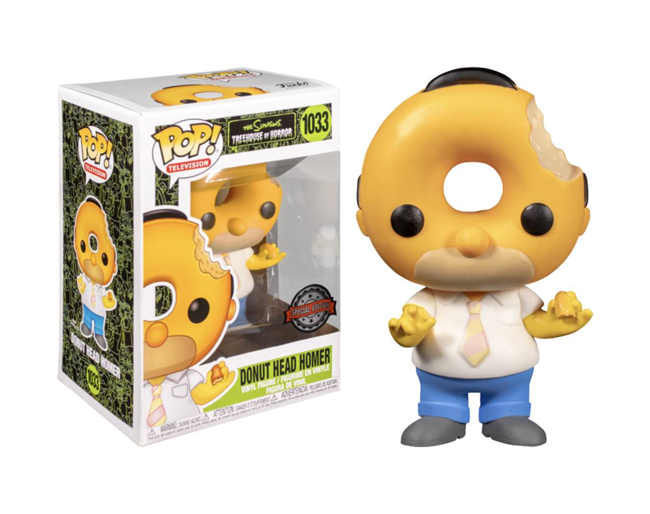 Donut Head Homer Pop! Vinyl