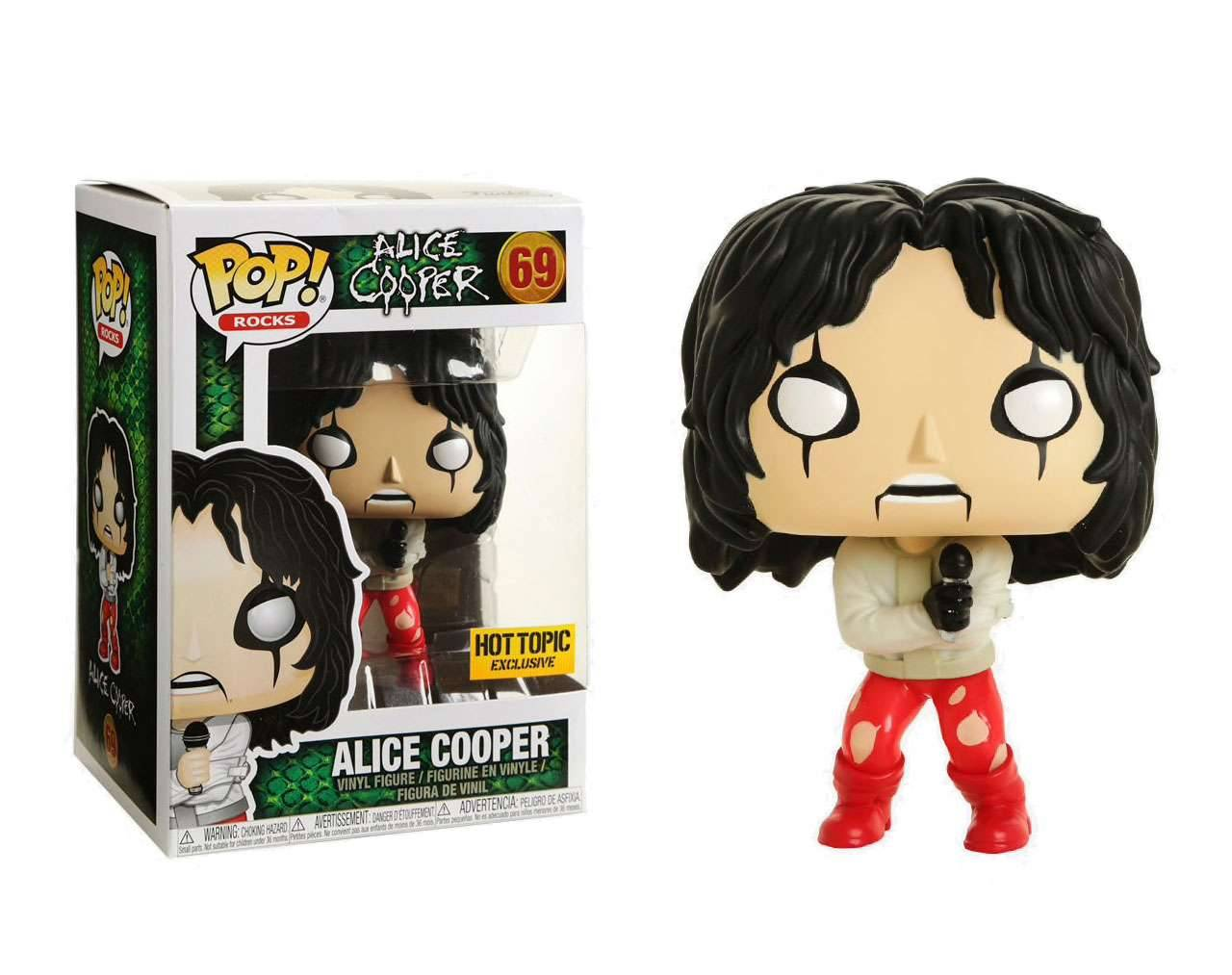 Alice Cooper in Strait Jacket Pop! Vinyl