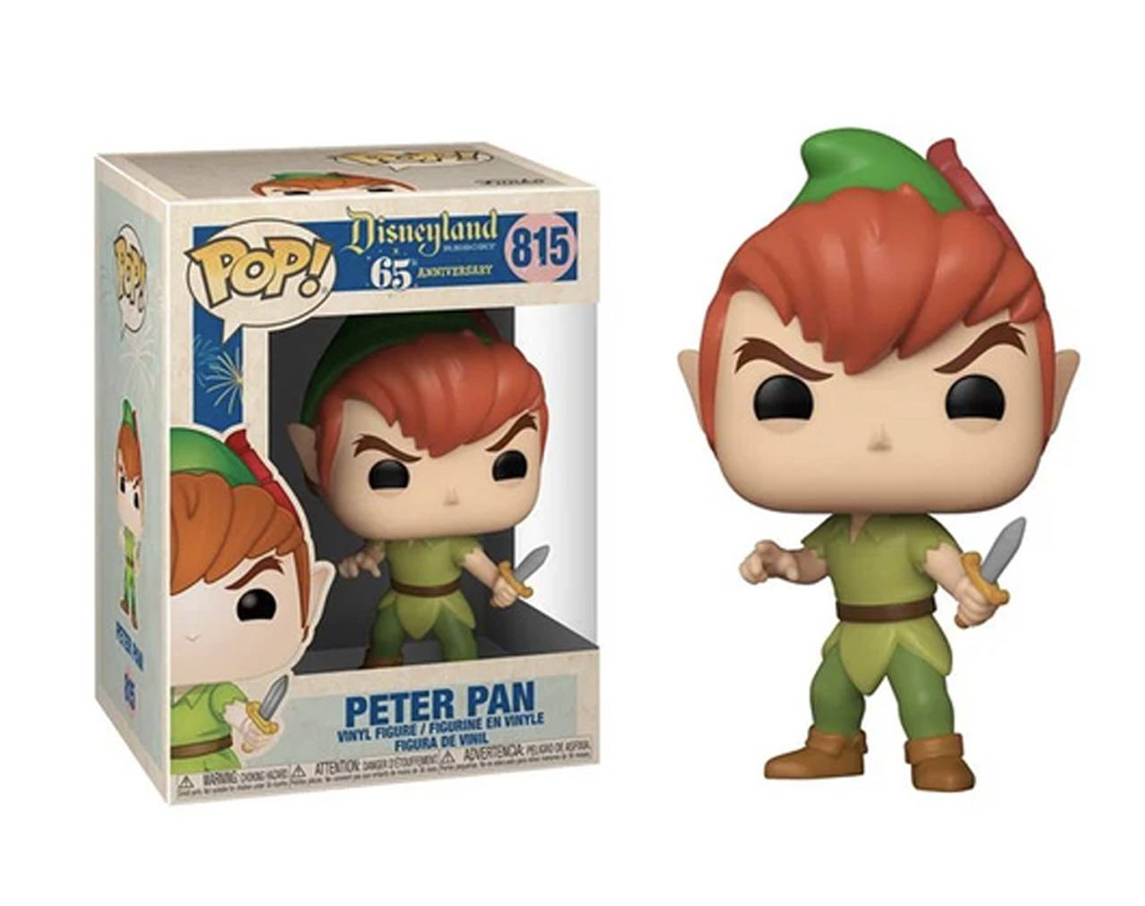 Peter Pan (Disneyland 65th Anniversary) Pop Vinyl