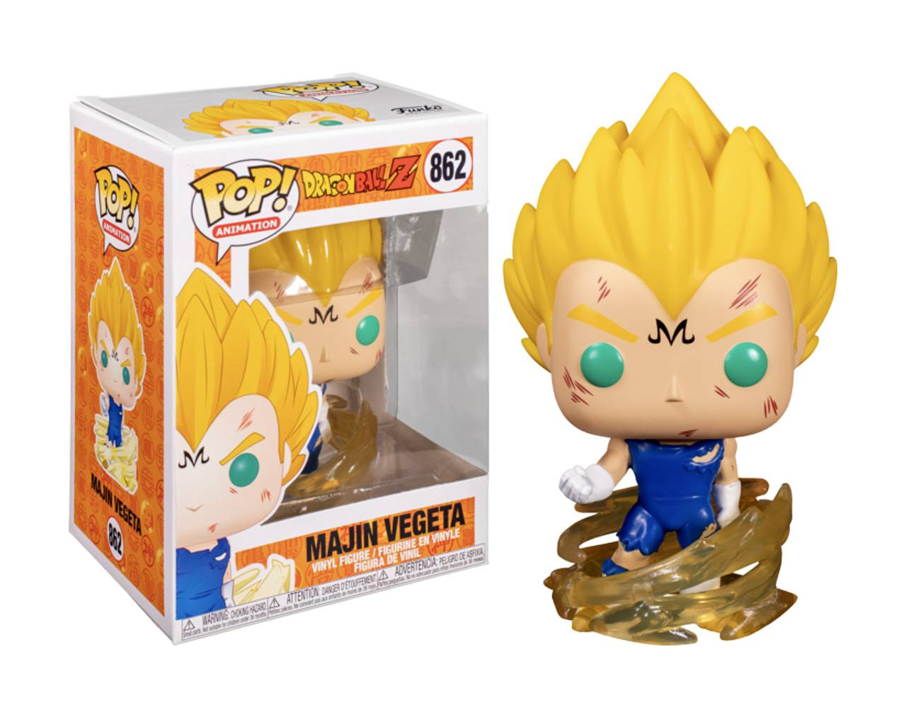 Majin Vegeta (Powering Up) Pop! Vinyl