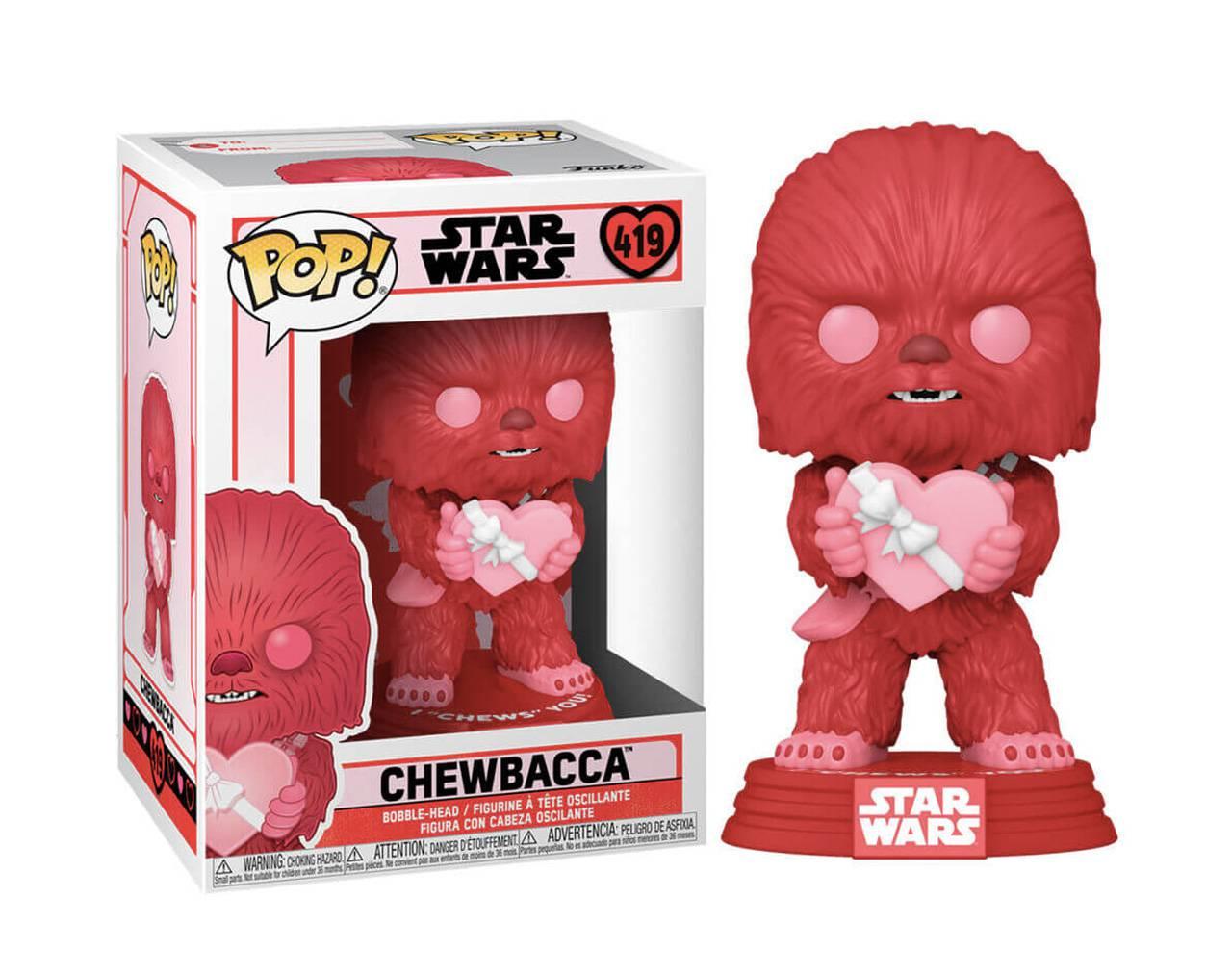 Chewbacca (San Valentín) Pop! Vinyl