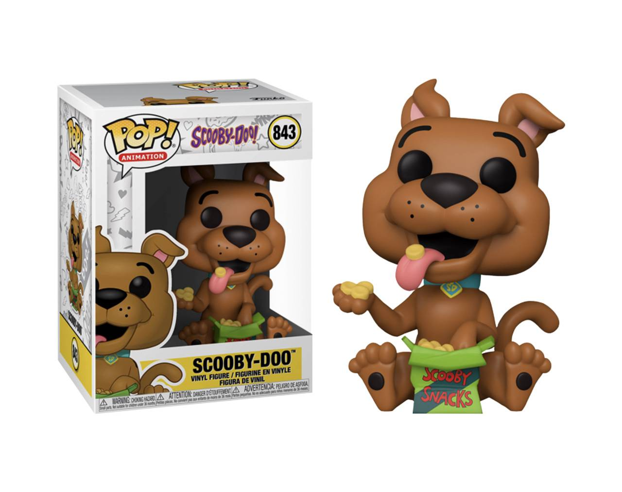 Scooby-Doo (Scooby Snacks) Pop! Vinyl