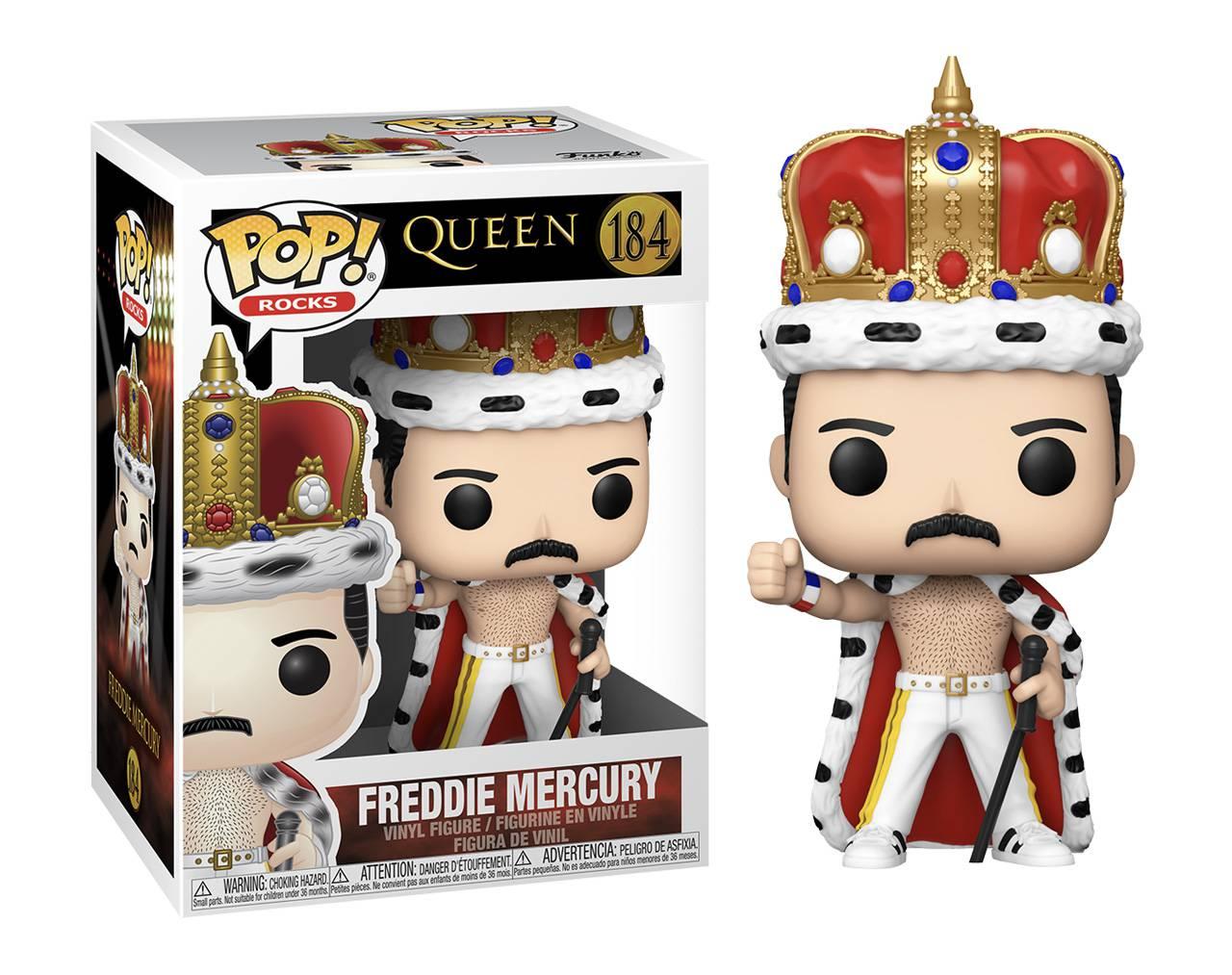 Freddie Mercury (Crowned) Pop! Vinyl