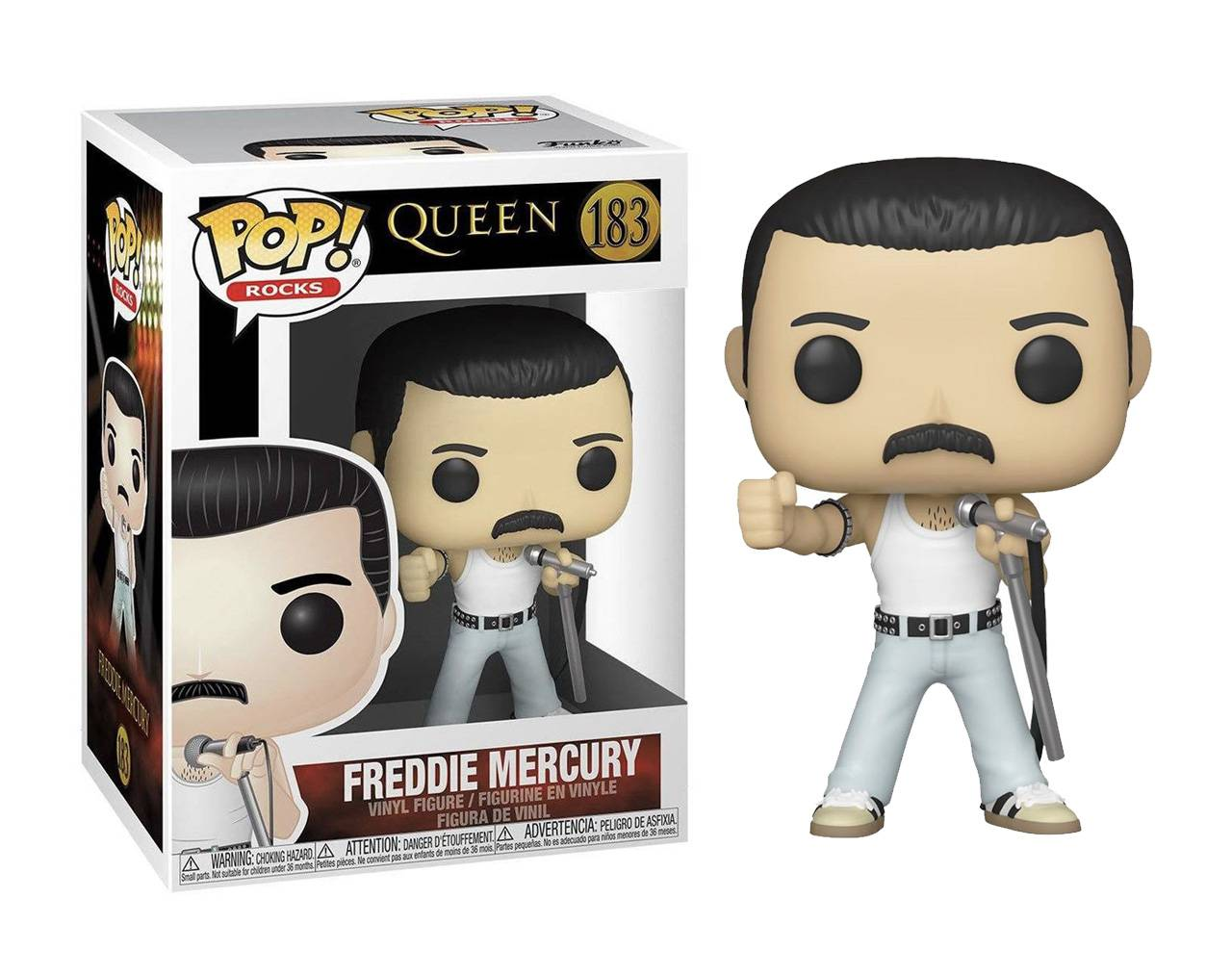 Freddie Mercury (Live Aid) Pop! Vinyl
