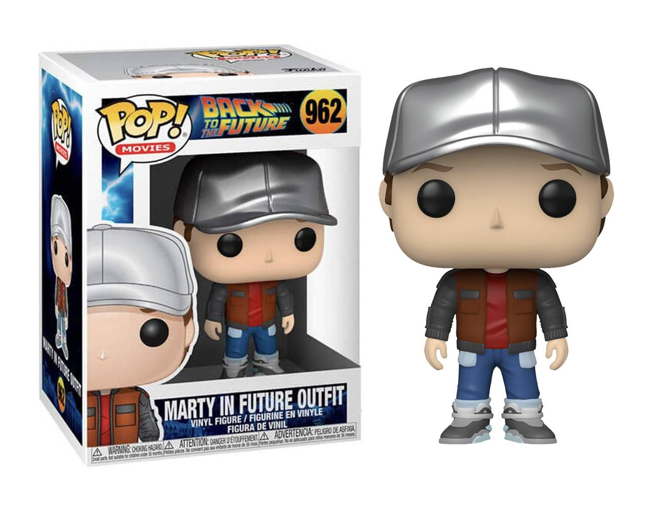 Marty McFly in Future Outfit Pop! Vinyl