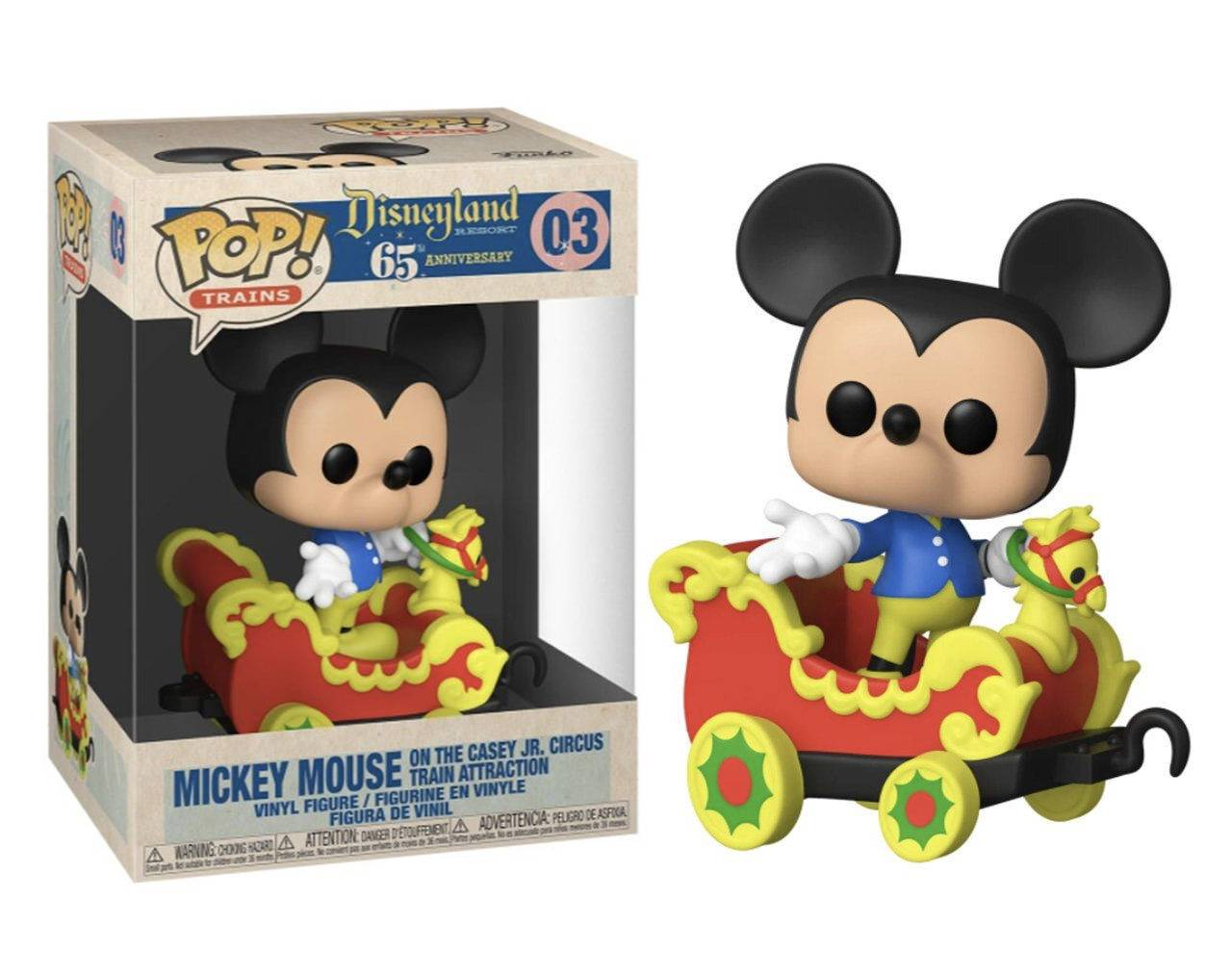 Mickey Mouse on the Casey Jr. Circus Train Attraction Pop! Vinyl