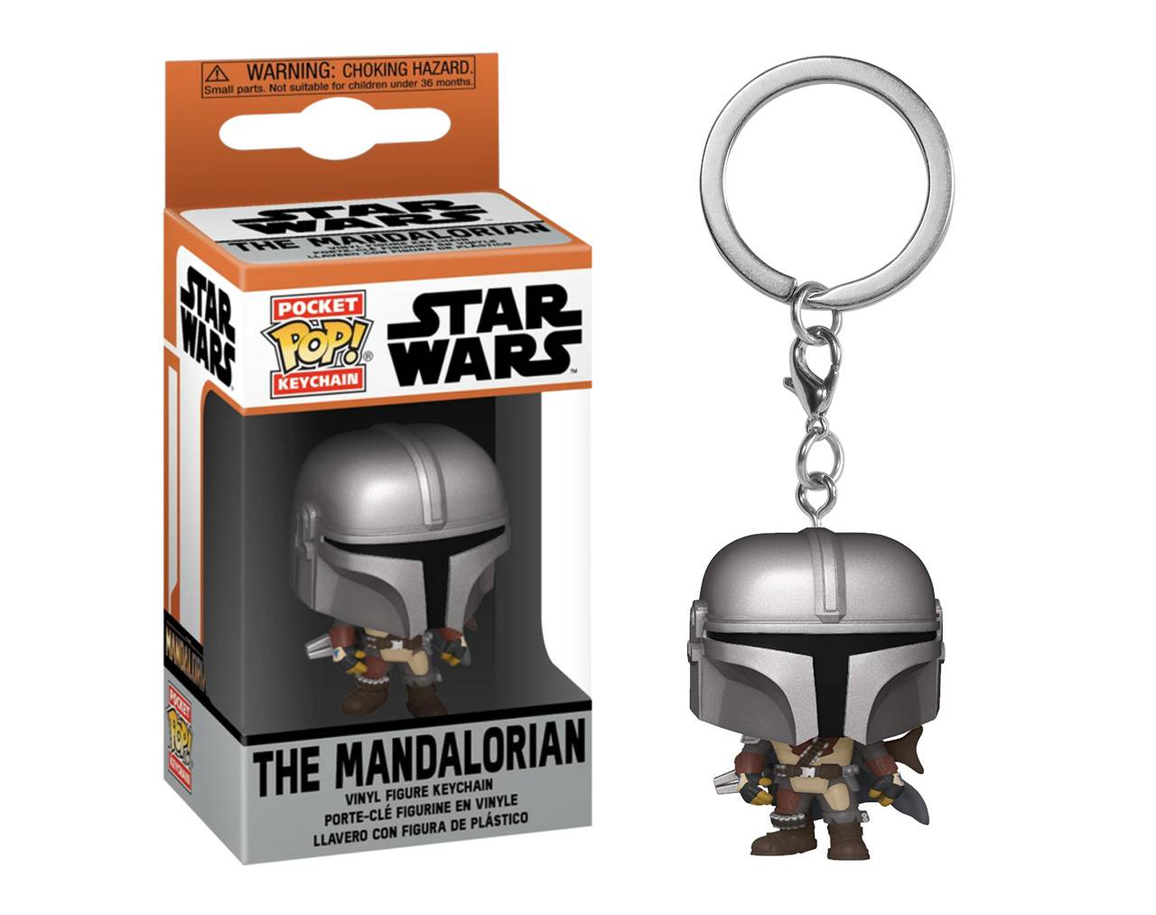 The Mandalorian (Llavero) Pop! Vinyl