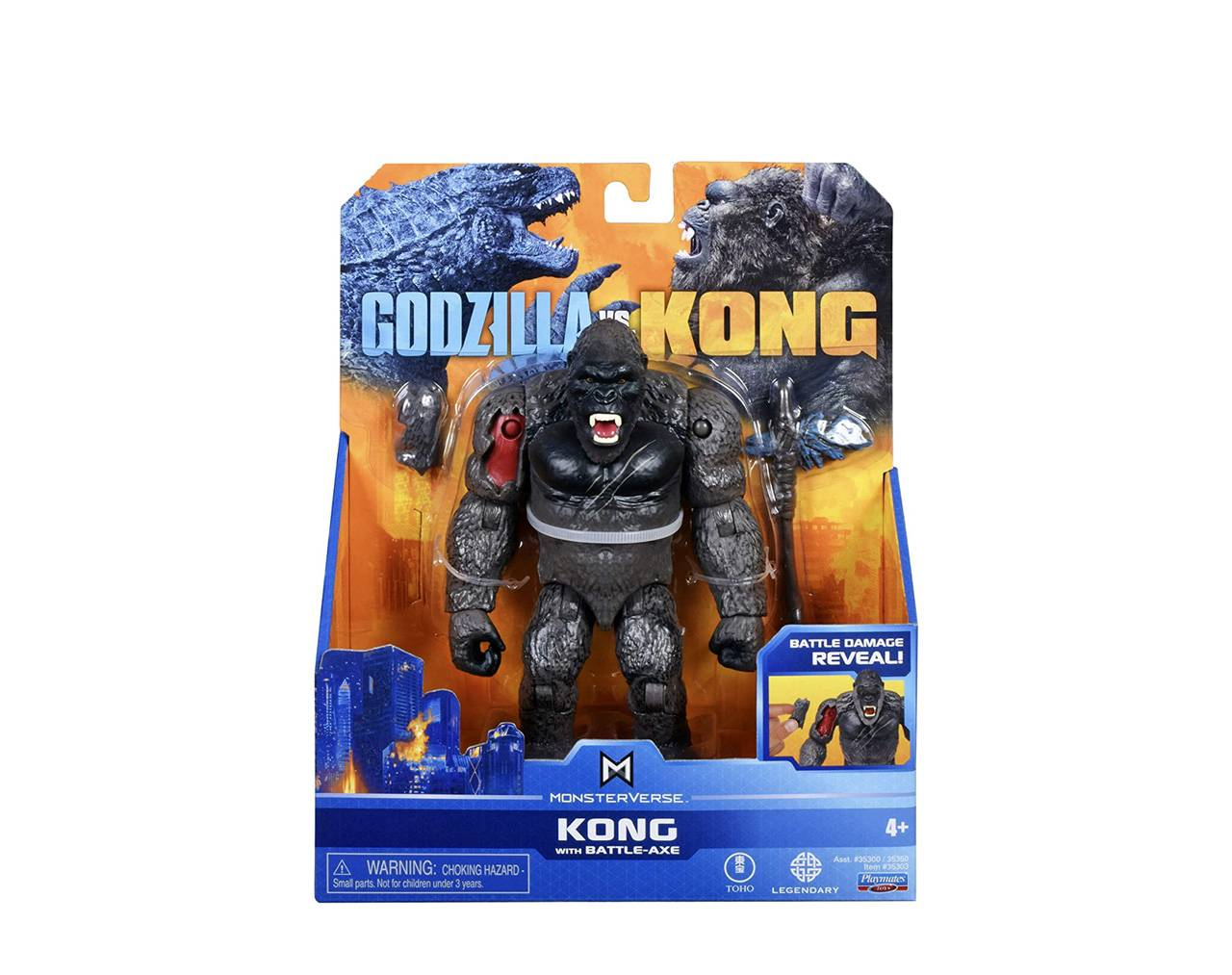 Kong with Battle Axe Playmates Toys