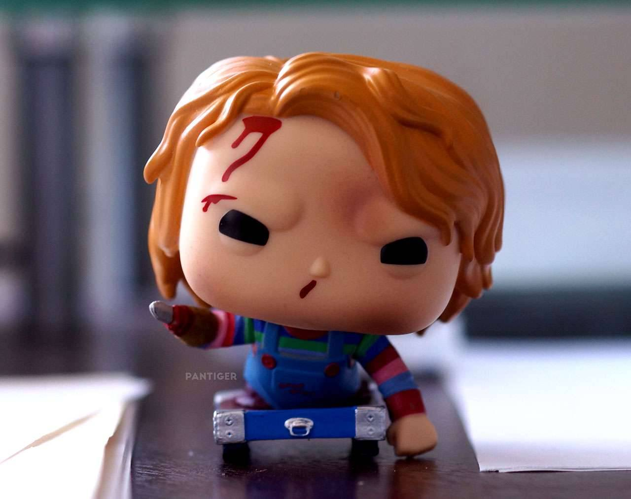Chucky on Cart Pop! Vinyl