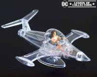 Invisible Jet with mini Retro Wonder Woman Vinyl
