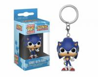 Sonic with Ring (Llavero) Pop! Vinyl