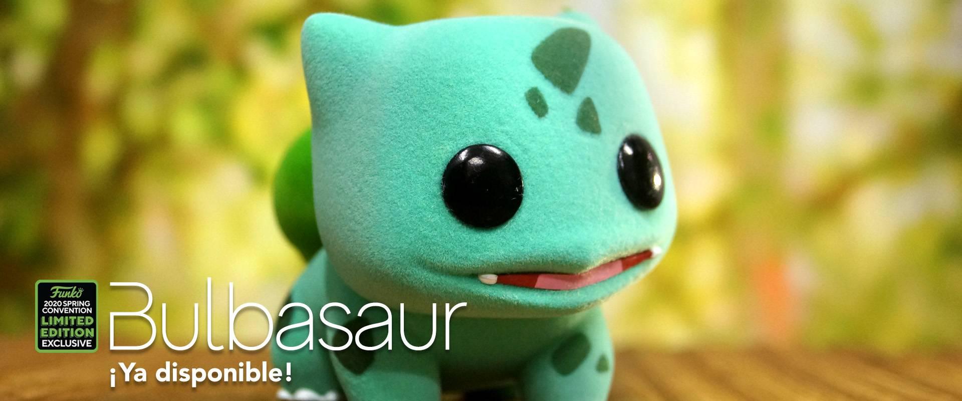 ¡Bulbasaur ya disponible!