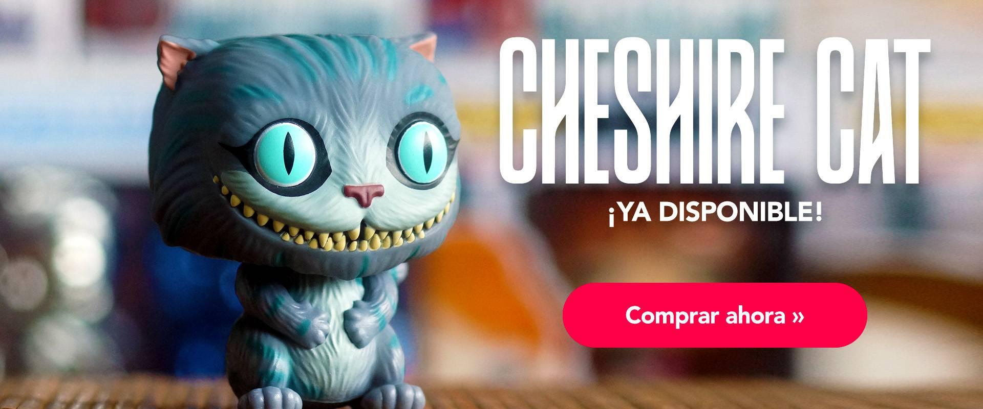 Cheshire Cat Banner Julio