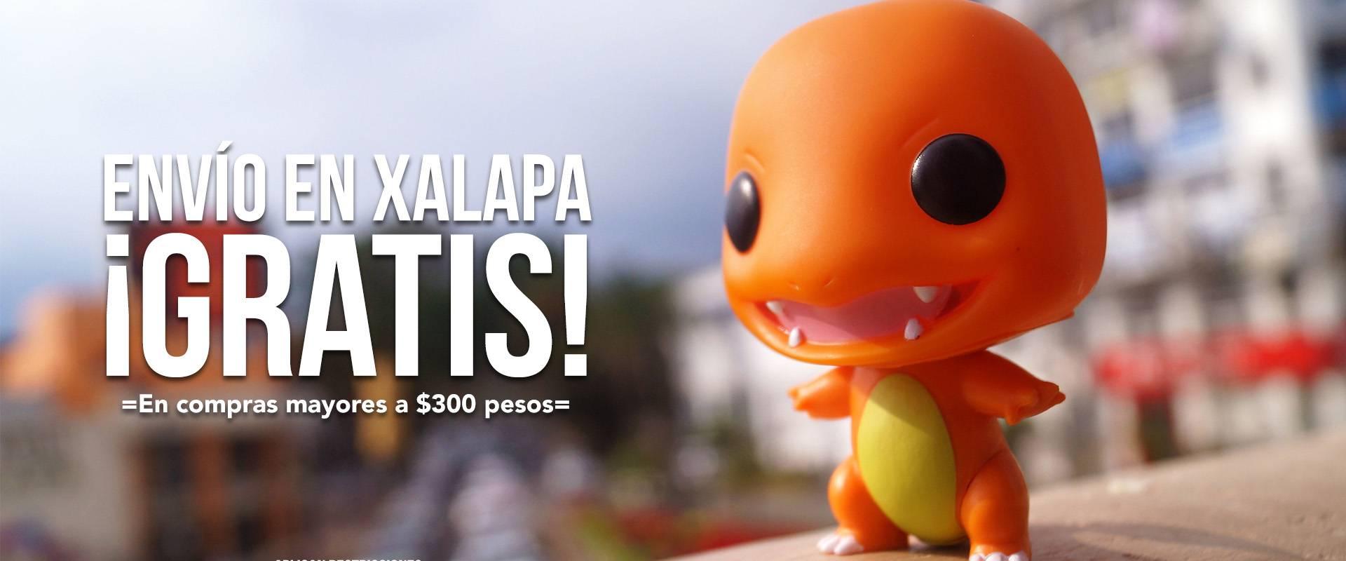 ¡Envío a domicilio gratis en Xalapa!