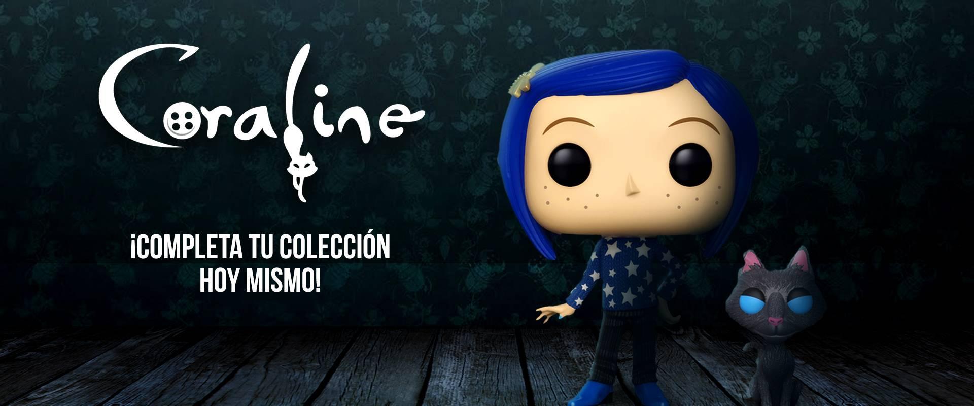 ¡Funko POP Coraline disponible!