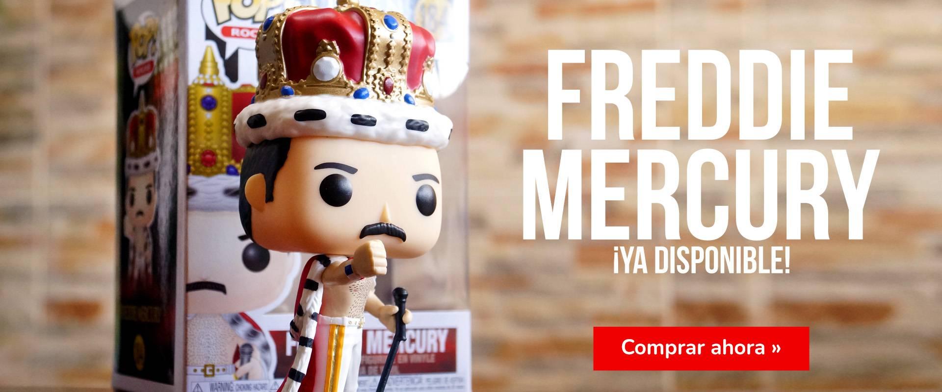 ¡Funko POP Freddie Mercury disponible!