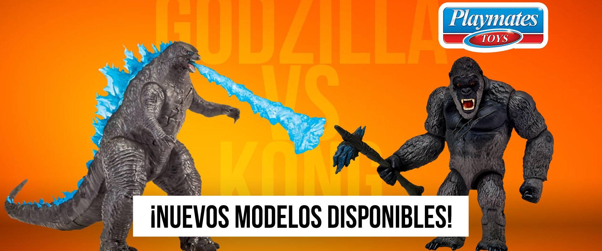 Godzilla vs King Kong Playmates