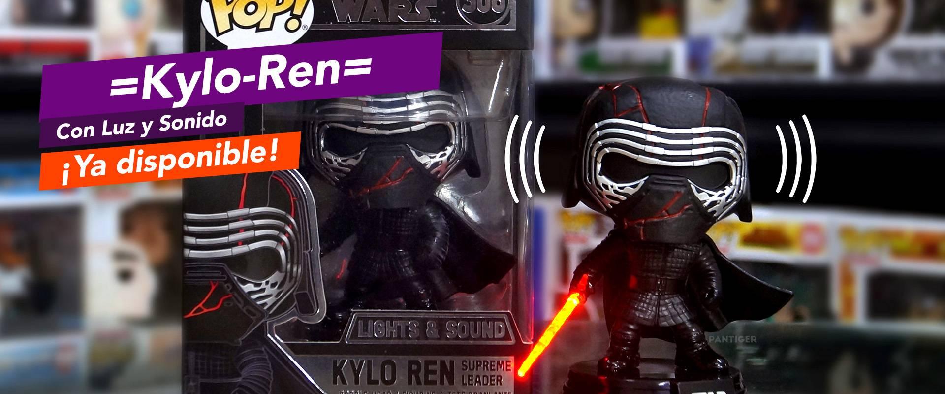 Kylo-Ren con Luz y sonido.