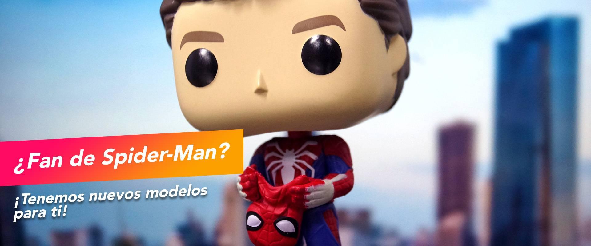 ¡Nuevos Funko POP de Spider-Man!